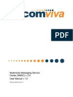 Multimedia Messaging Service Center (MMSC) v 2.6