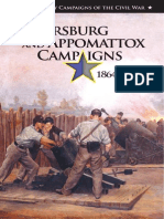 The Petersburg and Appomattox Campaigns, 1864–1865