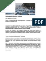 Imobilidade e Contradicoes de Brasilia