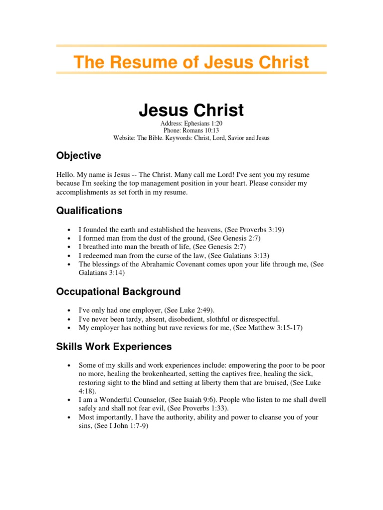 Resume Book Of Proverbs Miracle