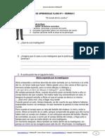 Guia de Aprendizaje Lenguaje 5b Semana 2 2014
