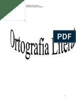 Cuadernillo Ortografía Literal