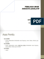 Htn Pemilihan Anggota Legislatif