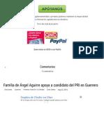 22-05-15 Familia de Ángel Aguirre apoya a candidato del PRI en Guerrero - Mientras Tanto en México