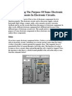 Understanding the Purpose of Some Electronic Components in E
