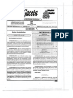 Decreto 181 2007 Reforma Ley General Del Ambiente