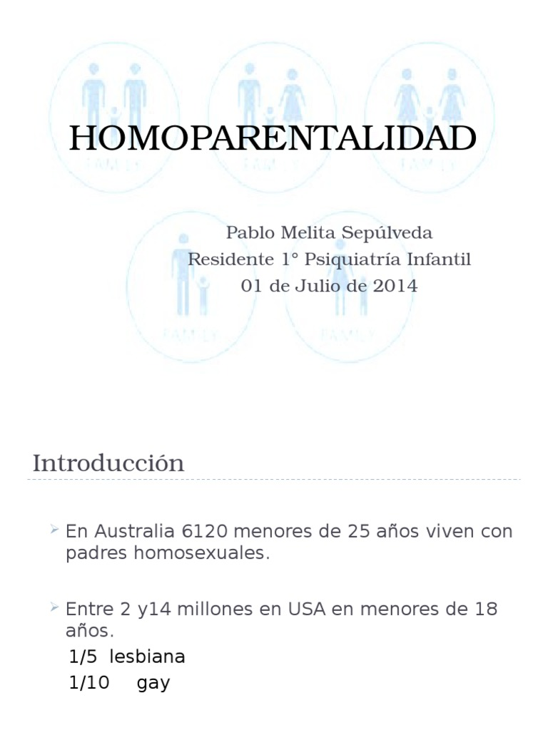 Discriminacion en el trabajo por ser homosexual parenting