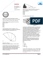 Exercícios Trigonometria - Com Resoluçao