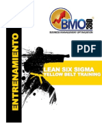 Curso Lean Six Sigma Yellow Belt Training