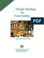 Safer Food for Better Health