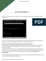 Modificar El Arranque de Windows 7