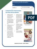 Producto 10. Competencias Profesionales Docentes