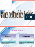 Planes de Beneficios Sociales