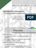 Multileaf Collimator