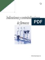 Indicacion y Contraindicaciones de Fármacos