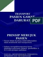 Transport Pasien Gawat Darurat