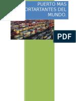Puerto Mas Importartantes Del Mundo