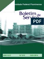 Boletim de Serviço Uff-010-2014