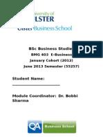 Bobbi LONDON E-Business Handbook June 2013