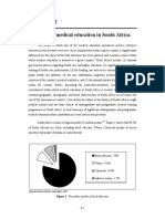 Overview of medical education in South Africa