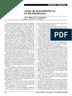 Cancerul de Prostatå - Epidemiologie Si Diagnostic