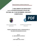 Reglamento de Inspección y Certificación de Buques Civiles
