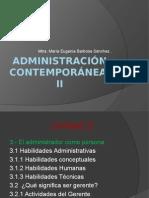 Administración Contemporánea II