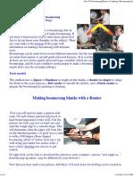 Basics of Making a Boomerang