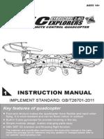 X5C User Manual 1