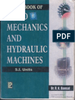 A TextBook of Fluid Mechanics and Hydraulic Machines - Dr. R. K. Bansal