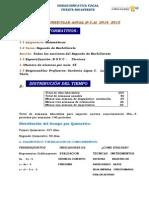 Actual 2014 Plan Anual II Matematica