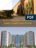 D Y Patil Institute Engineering Technology Campus Prsenatation