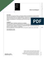 Estudios Sobre El Paramilitarismo en Colombia Edwin Cruz