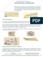 Materiales Para la Construcciom de Casa de Bambu