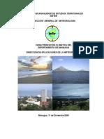 Caracterizacion Climatica de MANAGUA
