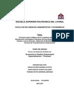 Ejemplo de Organigrama Empresa Telecomuinicaciones