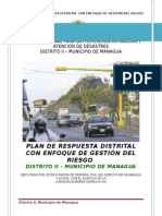 Plan Distrito II 2014