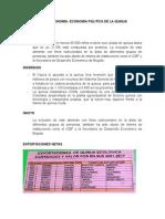 Macroeconomia- Politica Economica de La Quinua