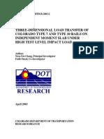 3D Impact Load Transfer Mechanism