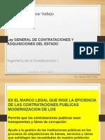 Ley General de Contrat