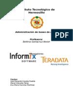 Informix y Teradata