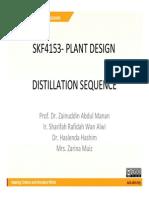 Distillation Seq