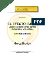 Libro EL EFECTO ISAÍAS Gregg Braden NCci