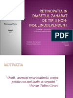 Retinopatia in Diabetul Zaharat de Tip II Non-Insulinodependent 2003