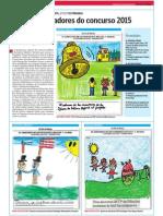 Traballos premiados no Concurso Mellor Xornalista Infantil e Xuvenil de Prensa-Escuela 2015.LVE.27.05.2015