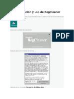 Configuración y Uso de RegCleaner (Parcial 3)