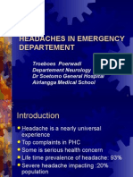 Headaches in Emergency Departement