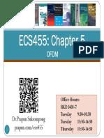 ECS455 - 5 - 1 - OFDM u1