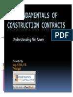 TheFundamentalsofConstructionContractsPresentationPeabody12!11!08 3