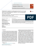 Palladium(II) Complexes of Anthraquinone-based as–O–as Type